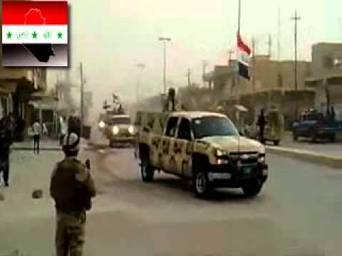 دخول الفرقه السادسه لواء 24 فوج الثاني في الموصل