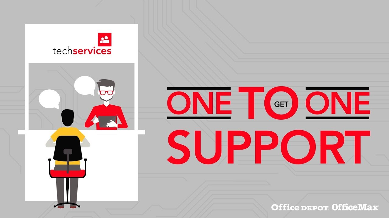 office depot tech services pc repair youtube