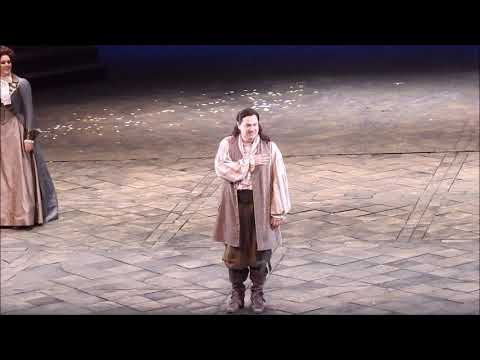 Curtain Call in Don Giovanni with Ildar Abdrazakov, Rachel Willis Sørensen, Aida Garifullina 2.13.19