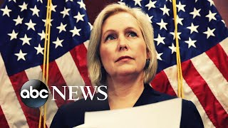 New York Senator Kirsten Gillibrand announces 2020 presidential run