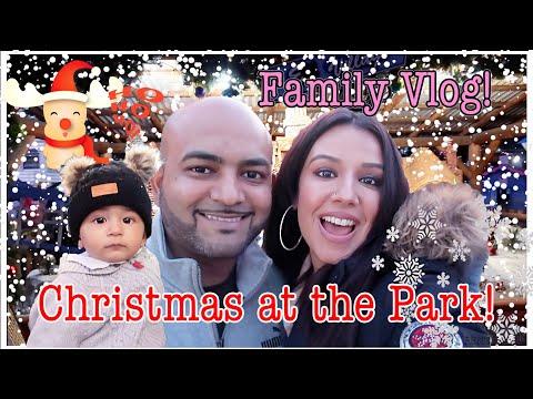 Christmas At The Park San Jose Vlog!