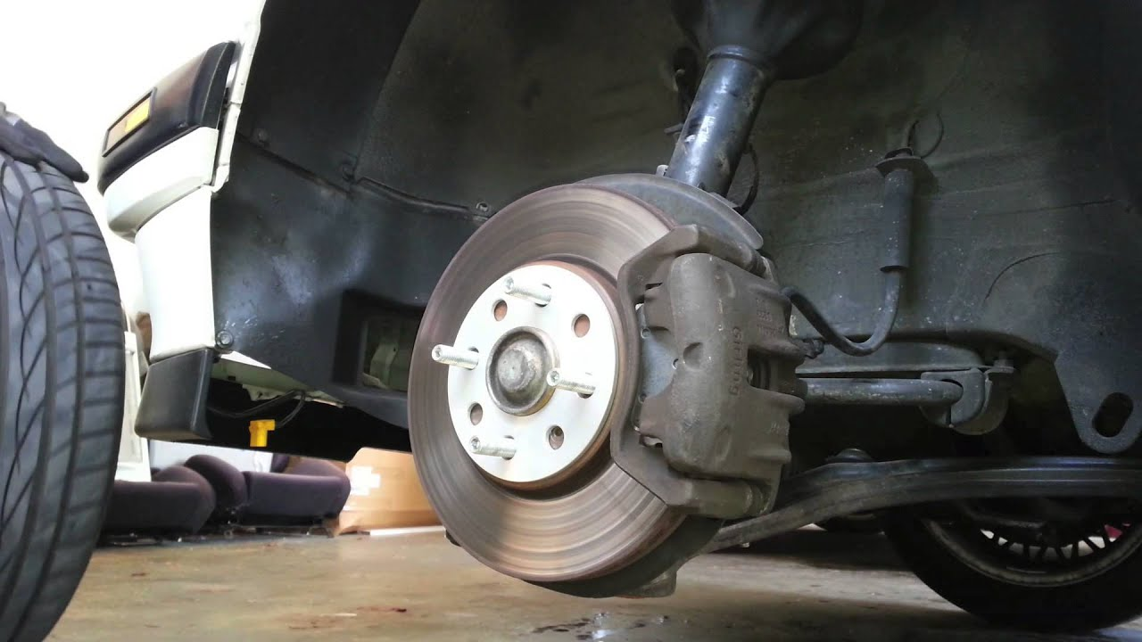 Diy How To Install Wheel Spacers Youtube