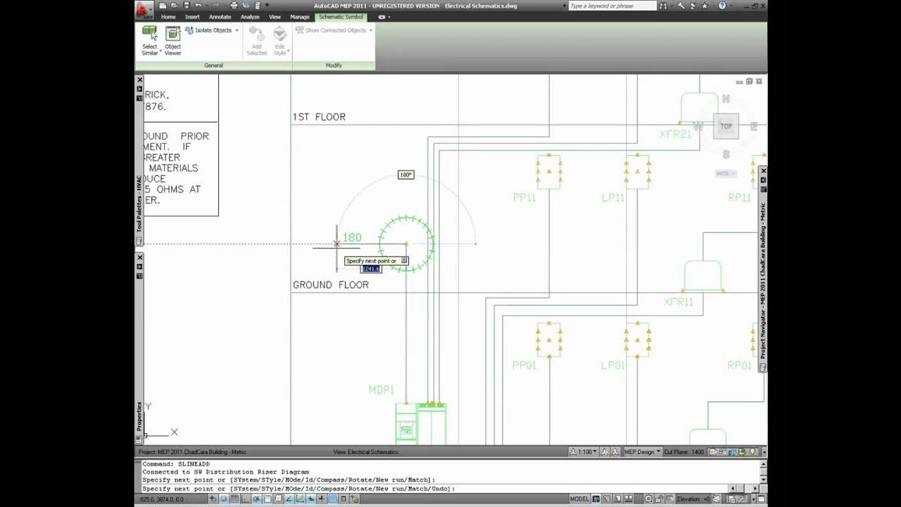 Autocad Mep Dynamic Input For Dimensions Youtube Electrical Drawing Symbols Dwg
