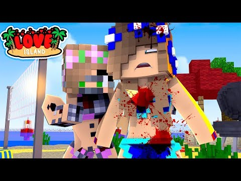 MY SISTER IS A KILLER ROBOT!! (Minecraft Love Island) w/Little Carly and Little Kelly.