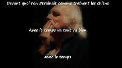 Léo Ferré  - Avec le temps (paroles de la chanson)