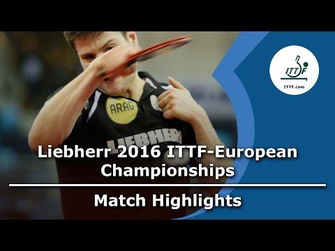 2016 European Championships Highlights I Ovtcharov vs Duran (R64)