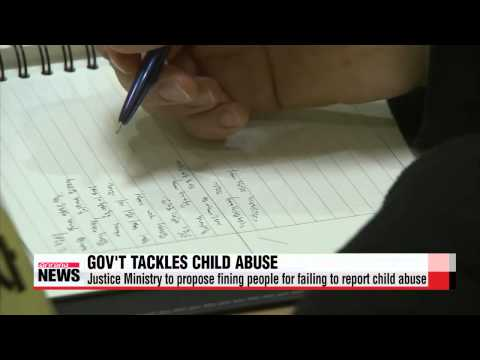 Justice Ministry to propose fining people for failing to report child abuse