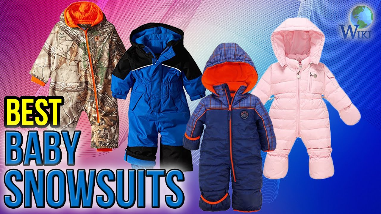 285e90e8c 10 Best Baby Snowsuits 2017 - YouTube
