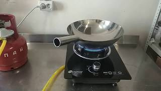 Встраиваемово-настольная газовая вок печь
