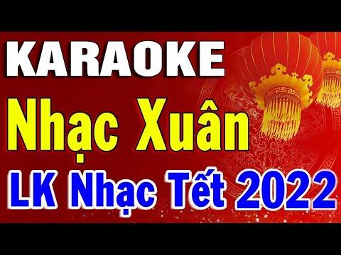 Karaoke Nhạc Xuân 2020 Nhạc Tết Nguyên Đán Dễ Hát Nhất | Liên Khúc Chào Mừng Tết Canh Tý 2020