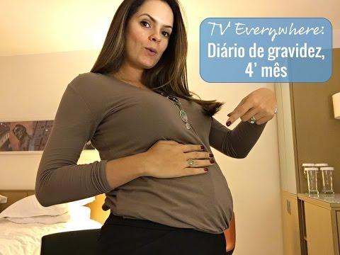 TV Everywhere: Diário da Gravidez, quarto mês
