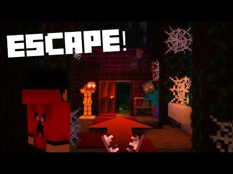 🔴 Escape The Minecraft House! | Minecraft Custom Map
