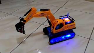 Mainan mobil traktor beko -  Super machine truck