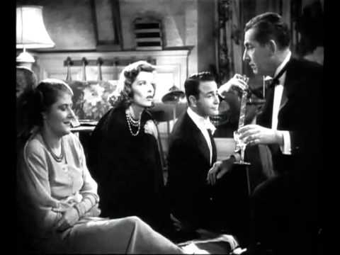 Katharine Hepburn and company sing Camptown Races in Holiday (Cukor, 1938)