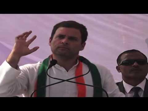 Congress VP Rahul Gandhi addresses Public Rally in Kushinagar, Uttar Pradesh, March 1, 2017