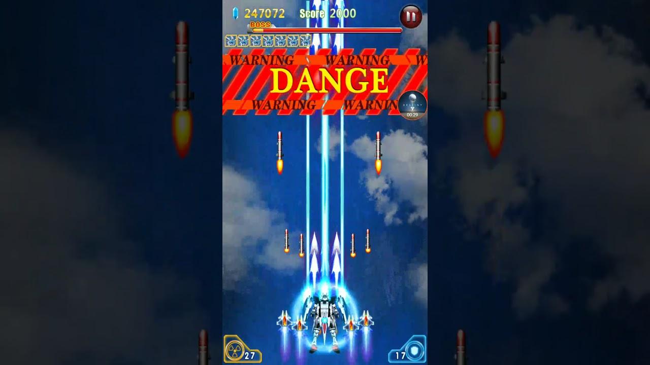Thunder Strike Fighter - Raytheon Fighter - Boss Level 9 - Reaper