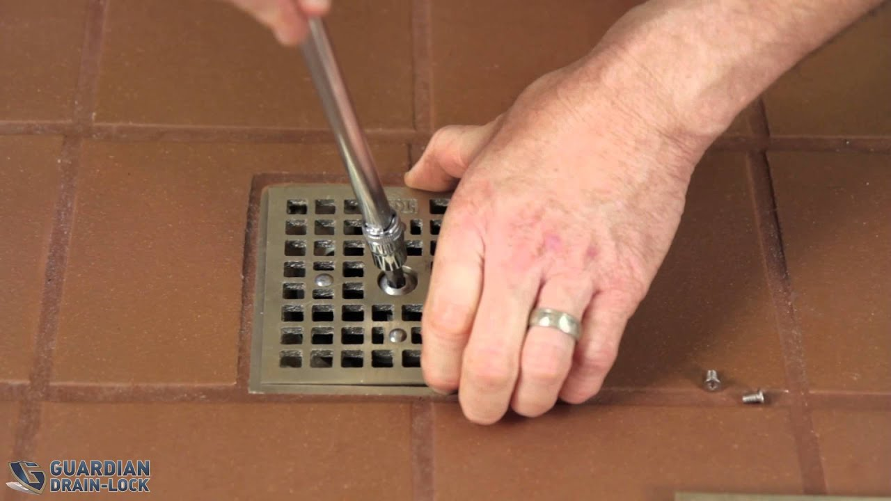 Zurn Bathroom Sinks zurn floor drain replacement grate - youtube