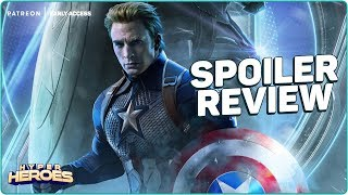 Avengers: Endgame - Spoiler Review