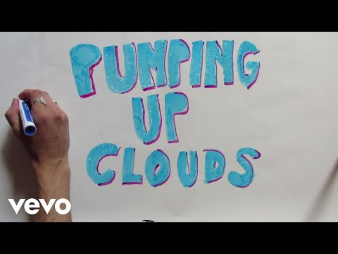 Urban Cone - Pumping Up Clouds (A Drawing By Urban Cone)