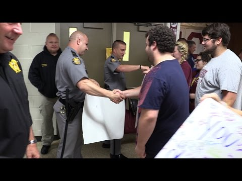 Local first responders honored at Pikeville High School