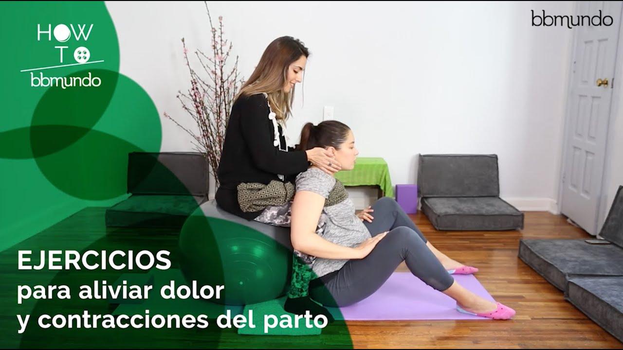 dolor de espalda contracciones embarazo