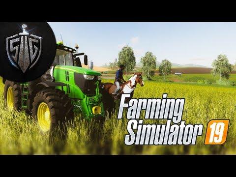 Çifliği Baştan Yapıcaz  I  Farming Simulator 19  #1