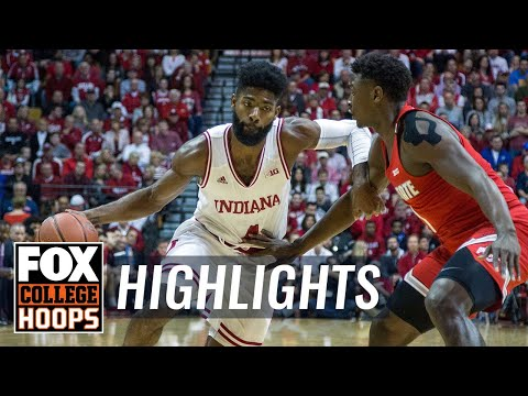 Ohio State vs Indiana   HIGHLIGHTS   FOX COLLEGE HOOPS
