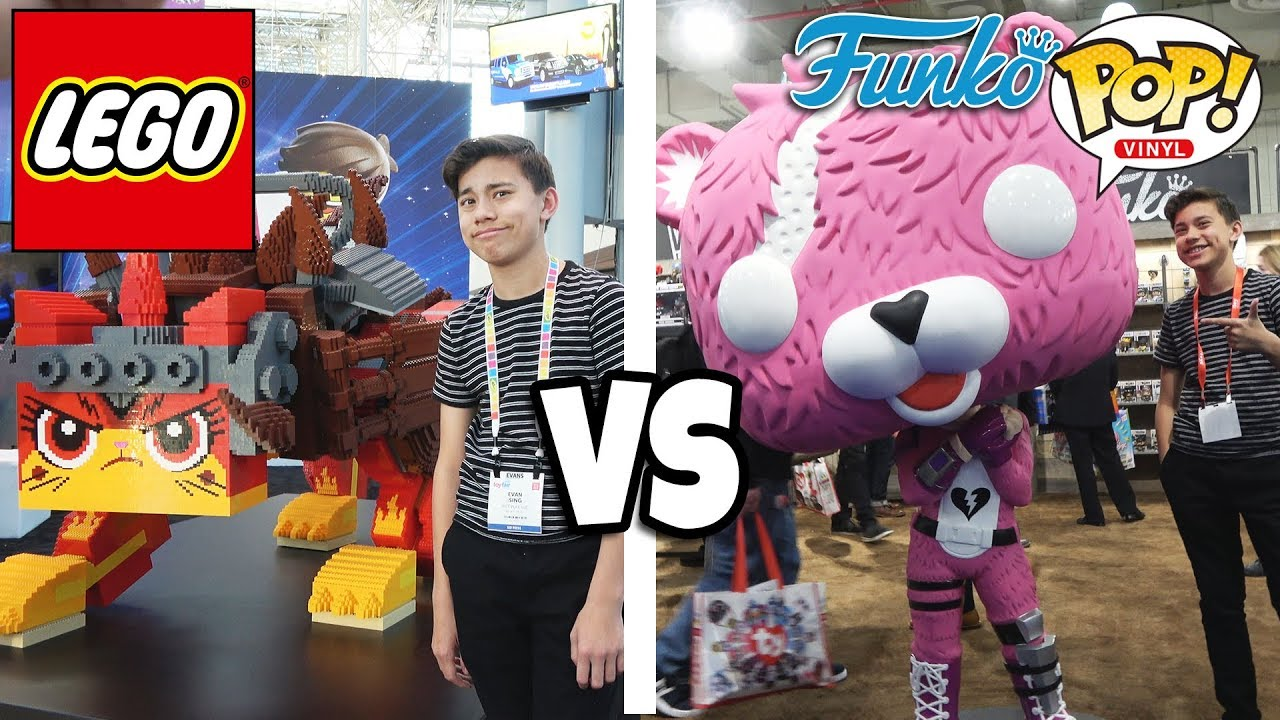 LEGO VS. FUNKO POP!!! New Sets & Fortnite Figures!