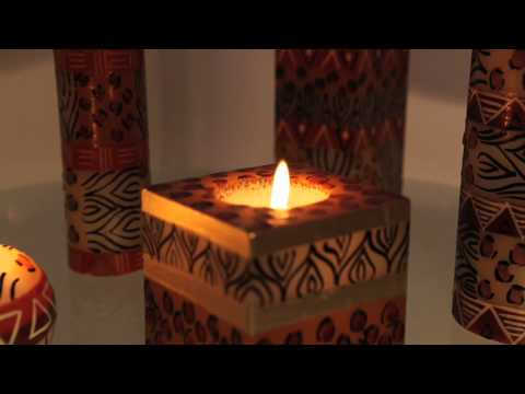 Fair Trade Out Of Africa - Handmade Candles and Candle Holders from South Africa