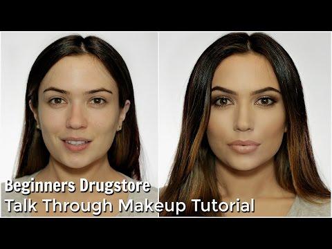 Beginners Talk Through Makeup Tutorial | All Drugstore