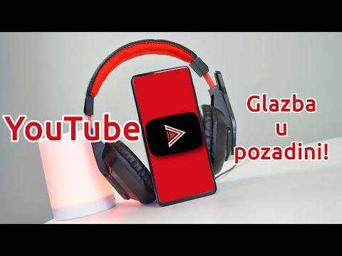 YouTube s ISKLJUČENIM ZASLONOM - YouTube Vanced | Bajtshot