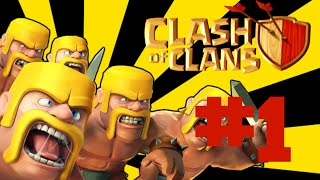 【Clash of Clans】- Lets Play?:) #1-cz-