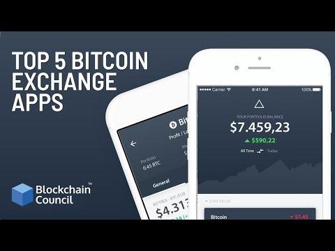 Top 5 Bitcoin Exchange Apps | Blockchain Council