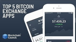 Top 5 Bitcoin Exchange Apps | Blockchain Council
