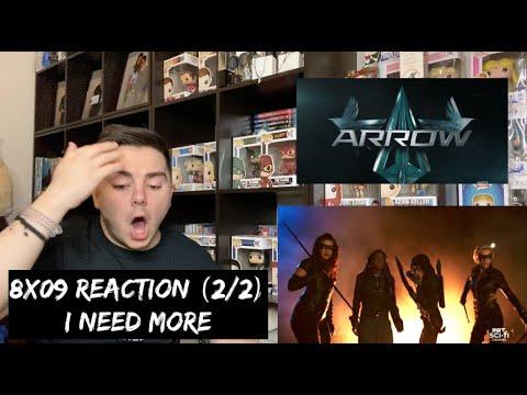 ARROW - 8x09 'GREEN ARROW & THE CANARIES' REACTION (2/2)