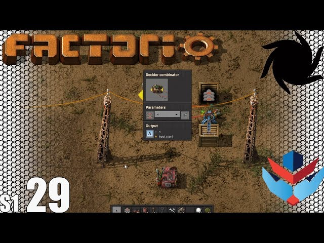 Factorio MP with NOG - S01E29 - Starting to Learn Factorio Circuit Networks