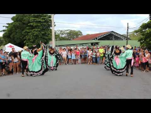 Tico traditional dance show in Costa Rica