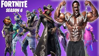 FORTNITE Battle Royale // 🔴 NEW SKINS 🔴 // 620 WINS