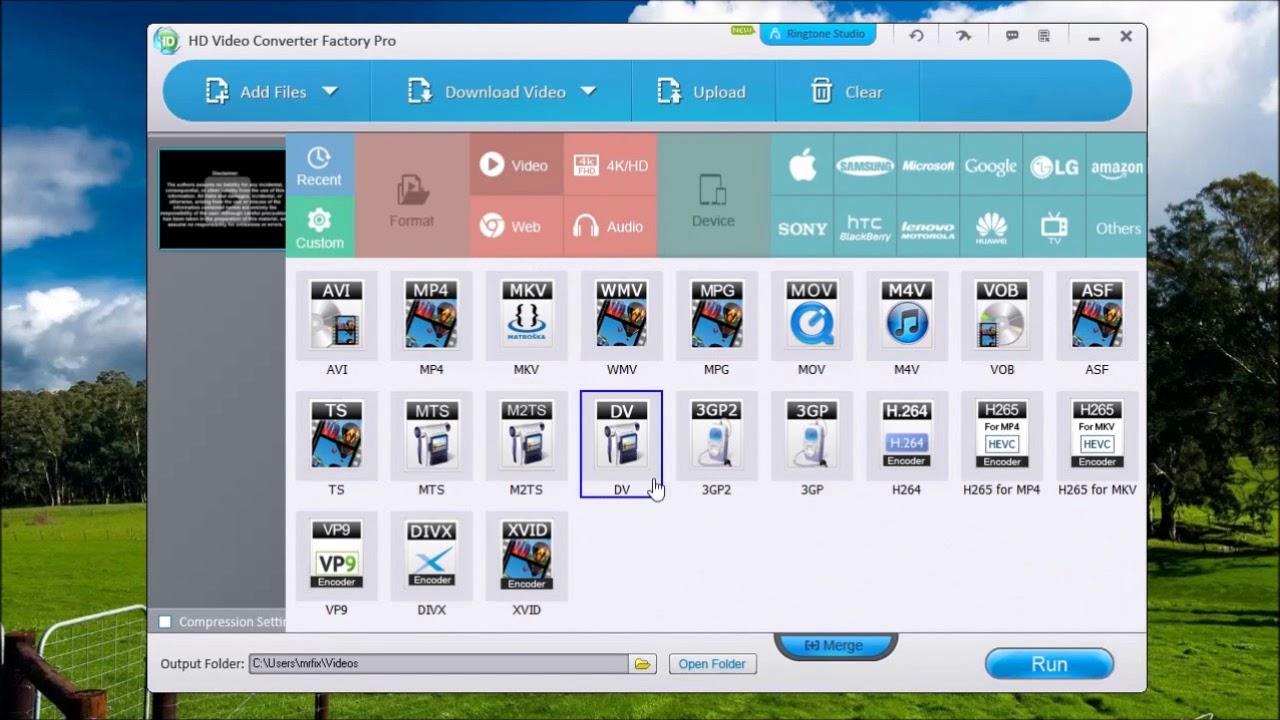 WonderFox HD Video Converter Factory Pro - YouTube