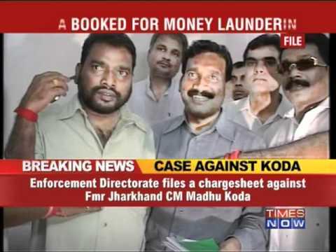 ED's chargesheet against Madhu Koda