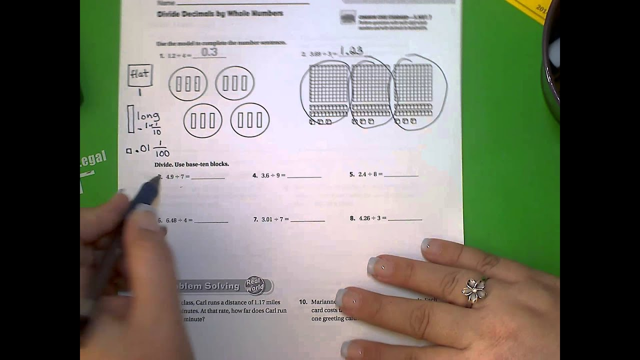 5th Go Math! Unit 1, Lesson 5.2 - YouTube