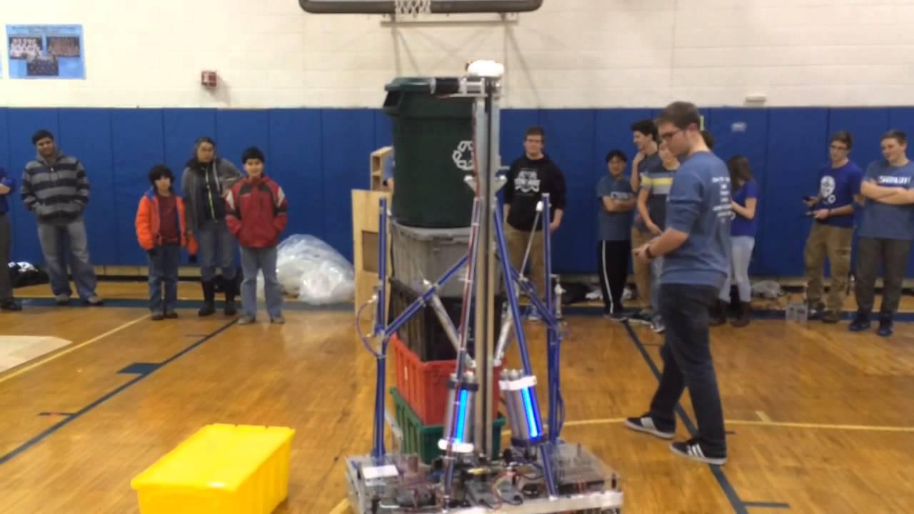 First Robotics Club At Warren Hills High School Youtube
