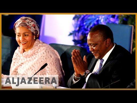 Kenya election: President Kenyatta takes early lead against Odinga