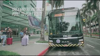 P2P BUS - ARANETA CENTER v.v NAIA TERMINALS 1,2,3,4