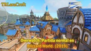 Overwatch Partida Normal En Blizzard World 2019