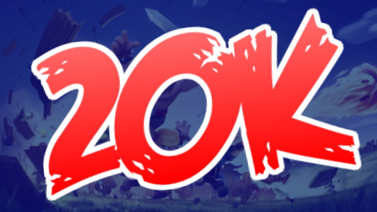 clash of clans 20k giveaway thank you closed youtube