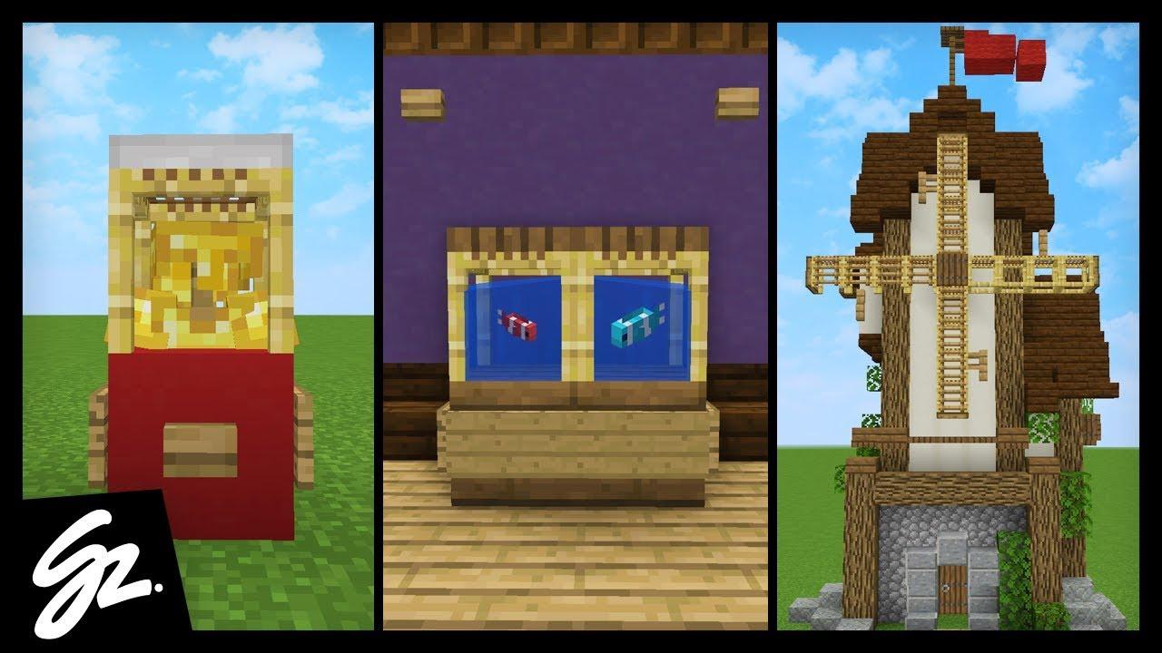 8 scaffolding building ideas in minecraft youtube