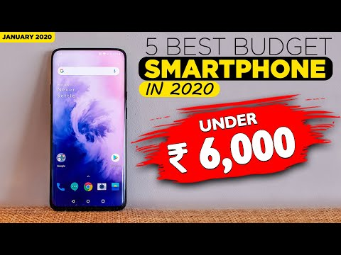 5 Best Smartphone Under 6000 [January 2020]