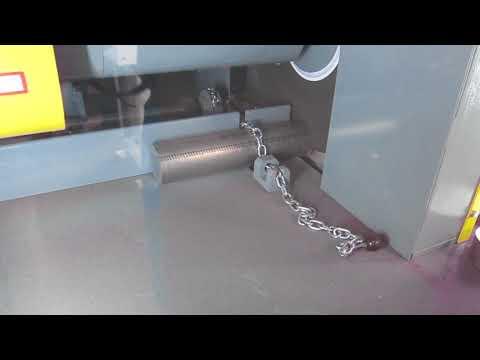 K26E Dry test cut 3 inch cobalt chrome
