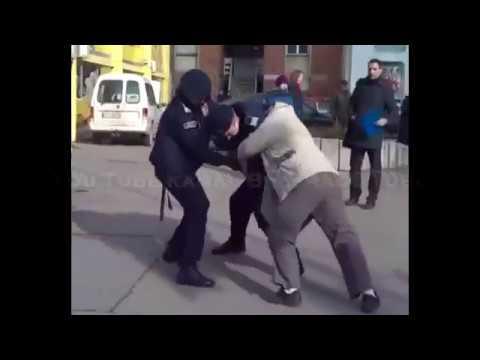 Shocking brutality of Serbian municipal police 18+